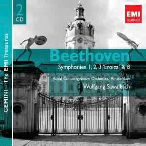 Beethoven: Symphonies 1, 2, 3 'Eroica' & 8