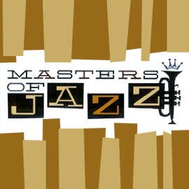Masters Of Jazz - John Coltrane, Miles Davis, Sonny Rollins, Tommy Flanagan, Doug Watkins, Max Roach, Art Blakey & The Jazz Messe, Jimmy Smith, Herbie Hancock, Chet Baker