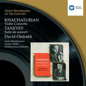 Khachaturian: Violin Concerto, Taneyev: Suite de concert