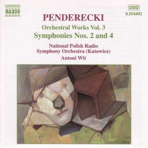 PENDERECKI: Symphonies Nos. 2 And 4