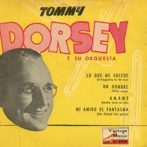 """Vintage Dance Orchestras Nº21 - EPs Collectors. """"The Best With Jimmy Dorsey"""""""