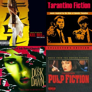 tarantino movie music
