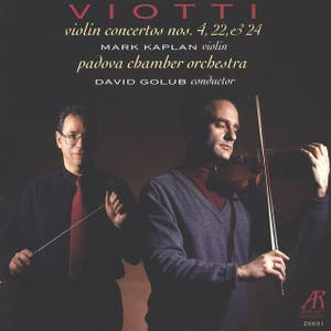 Viotti: Concertos Nos. 4, 22 & 24 for Violin and Orchestra