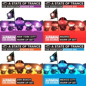 Armin van Buuren - A State Of Trance 600 Warm Up Sets (www.arminradio.com)