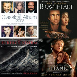 Soundtracks and Scores: James Horner