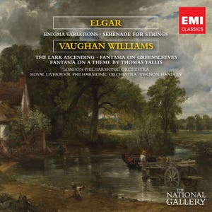 Elgar Enigma Variations, Vaughan Williams The Lark Ascending - The National Gallery Collection