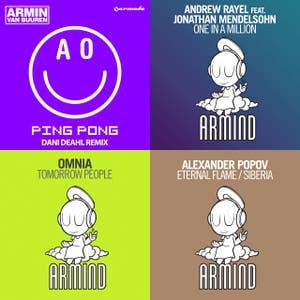 Armin van Buuren's Armind imprint releases (www.arminradio.com)