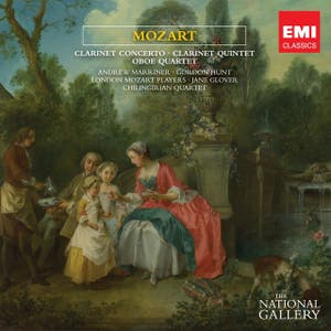 Mozart Clarinet Concerto & Quintet, Oboe Quartet [The National Gallery Collection]