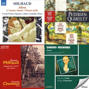 Darius Milhaud - Complete Chronological Collection