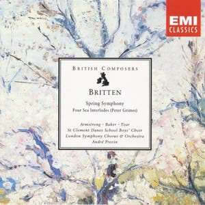Britten: Spring Symphony, Four Sea Interludes