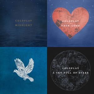 Coldplay Singles