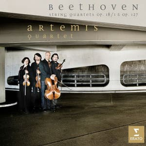 Beethoven : String Quartets Op.18/1 and Op.127