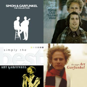 The top 10 tracks of Art Garfunkel's career