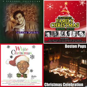 An Old Fashioned Christmas - Bing Crosby, Leroy Andersn, Boston Pops Orchestra, Vaughn Monroe, Johnny Mathis, Perrmy Como, Nat King Cole, Judy Garland, Gene Autry, Burl Ives