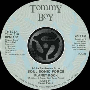 Afrika Bambaataa & The Soul Sonic Force