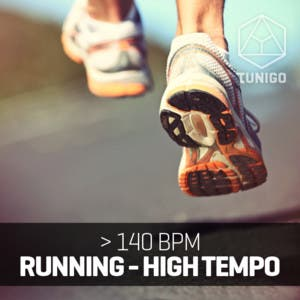Running HighTempo > 140 bpm