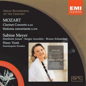 Mozart Clarinet Concerto in A Major K622/Sinfonia concertante in E flat Major K297b