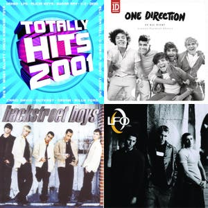 Boy Bands - The Hits from The Boy Band Era - Today and Yesterday (Nsync, One Direction, Backstreet Boys, LFO Plus One, Westlife & More