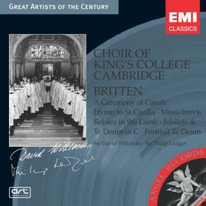 Britten: A Ceremony of Carols, etc