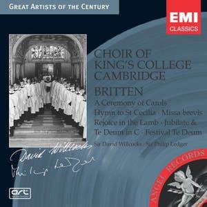 Britten: A Ceremony of Carols, etc