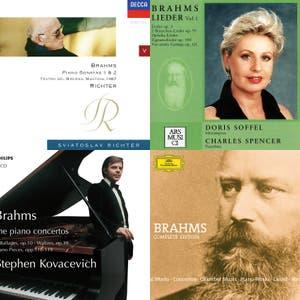 Johannes Brahms - Complete Works (Op. 1-122 + WoOs + Appendix)