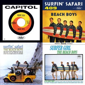 OWOB - The Beach Boys: Complete List