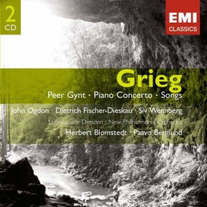 Grieg: Peer Gynt, Piano Concerto & Songs