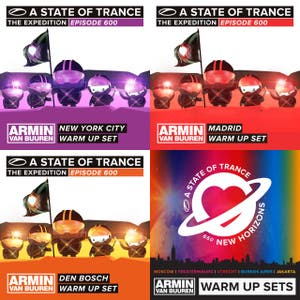 Armin van Buuren - A State Of Trance 600 and 650 / Warm Up Sets (www.arminradio.com)