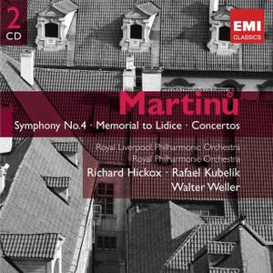 Martinu: Symphony No.4 - Memorial to Lidice - Concertos