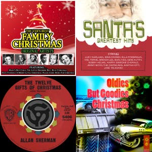 Holidays In Dementia - The Chipmunks, Spike Jones, Allan Sherman, Gayla Peevey, Stan Freberg, Tom Lehrer, Elmo & Patsy, Bob & Doug McKenzie, Wild Man Fischer, Cheech & Chong