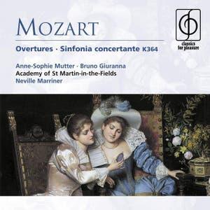 Mozart: Overtures . Sinfonia concertante K364