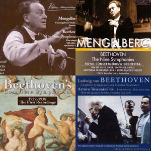 Beethoven Symphonies Box-sets: Chronological Index