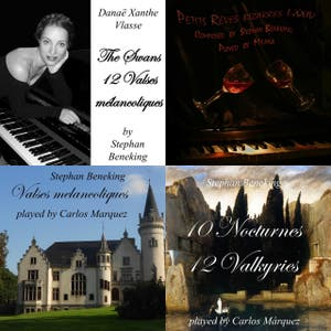 Beneking 8 hour Pure Neoclassical Piano - Recordings by Pianists - free piano scores on www.beneking.com
