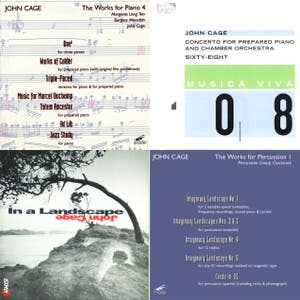THE SLATE BOOK REVIEW'S JOHN CAGE PLAYLIST