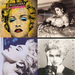 55 Madonna Songs for Madonna's 55th