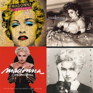 54 Madonna Songs for Madonna's 54th