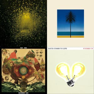 Top 21 Albums of 2011 (well, the 18 on spotify)