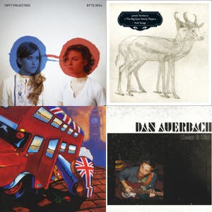 2010 Q1  (some of the albums I was listening to - usually the first track of an album as an aide memoir)