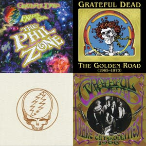 Grateful Dead, Full Live Chronology