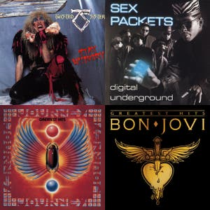 Barney's Get Psyched Playlist
