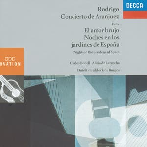 Rodrigo: Concierto de Aranjuez / Falla: Nights in the Gardens of Spain etc.
