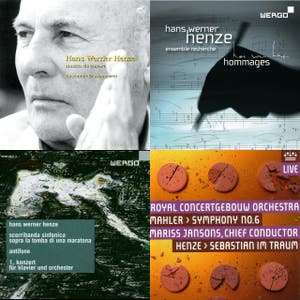 Hans Werner Henze - Reverse Chronological Collection