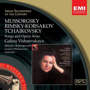 Vishnevskaya:Recital