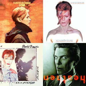 Ten Best David Bowie Albums