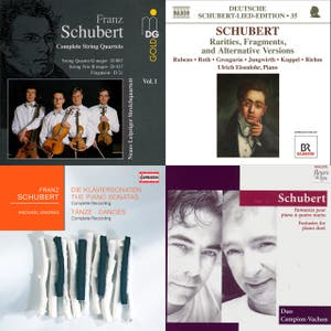 Franz Schubert - Complete Chronological Catalogue D. 1 - 998