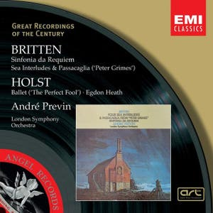 Britten:Sinfonia da Requiem, Peter Grimes/Holst:The Perfect Fool, Egdon Heath