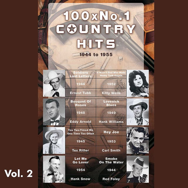 100 X No.1 Country Hits (1944 To 1955) Vol. 2