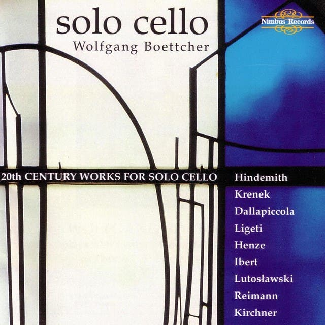 20th Century Works For Cello