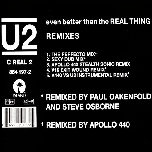 Even Better Than The Real Thing (Remix)