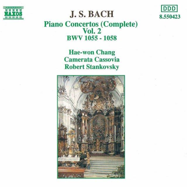 J.S. Bach: Piano Concertos, Vol. 2 (BWV 1055-1058)
